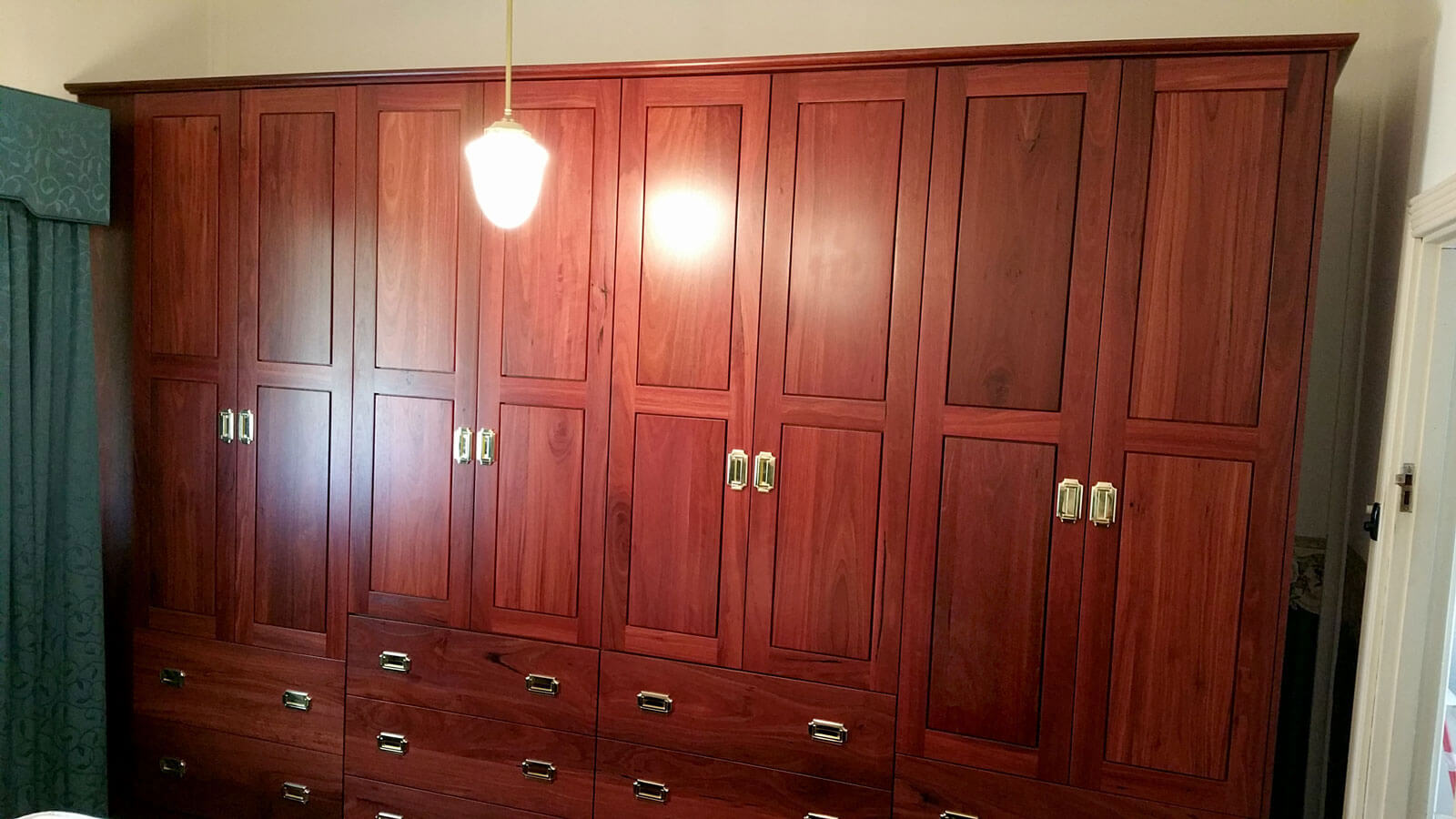 Guildford Jarrah Wardrobe L