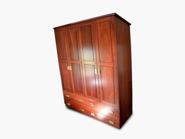 Guildford Jarrah Wardrobe S