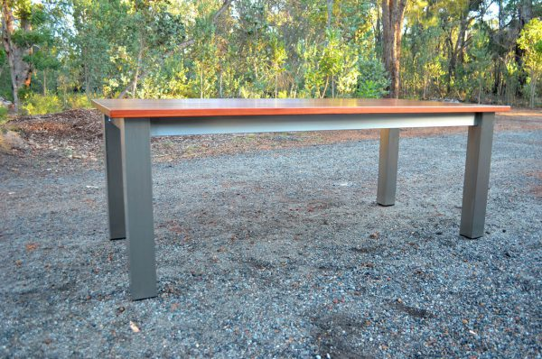 Augusta Stainless Marri Dining Table