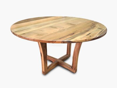 Round Timber Dining Tables