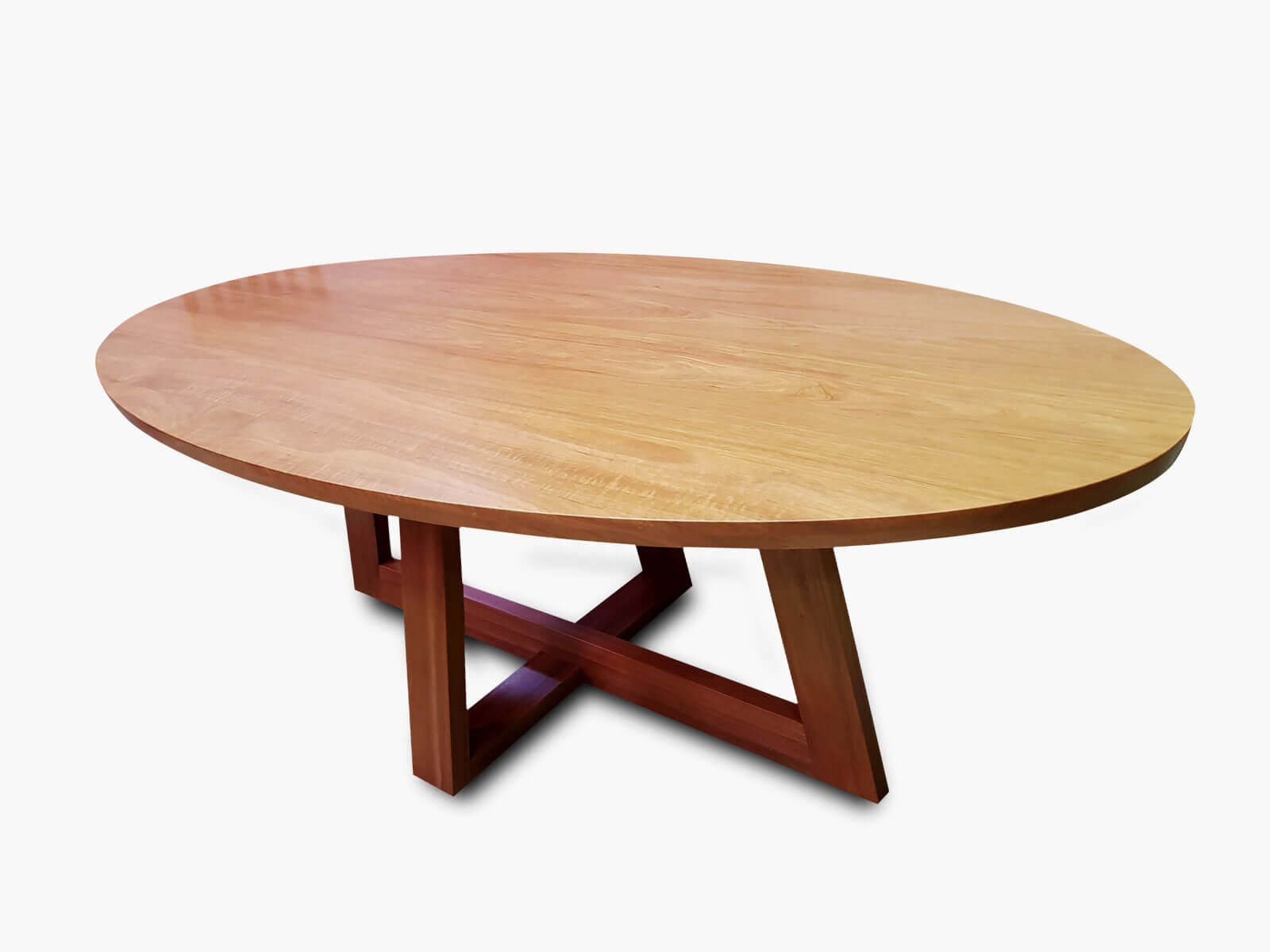 Capel Oval Tasmanian Oak Dining Table