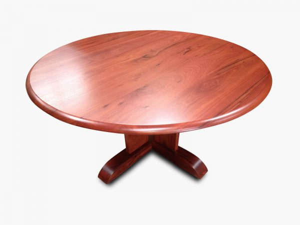Florence Round Jarrah Dining Table