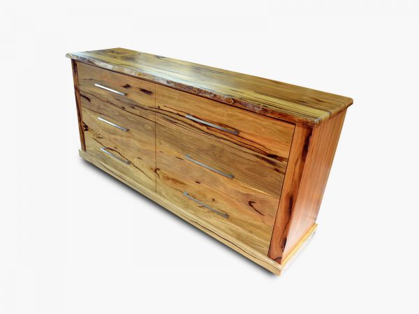 Geraldton Chest Drawers - Marri timber furniture