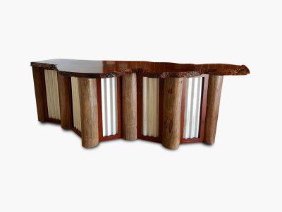 Timber Home Bar