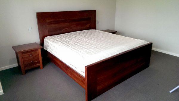 Wembley Jarrah King Bed
