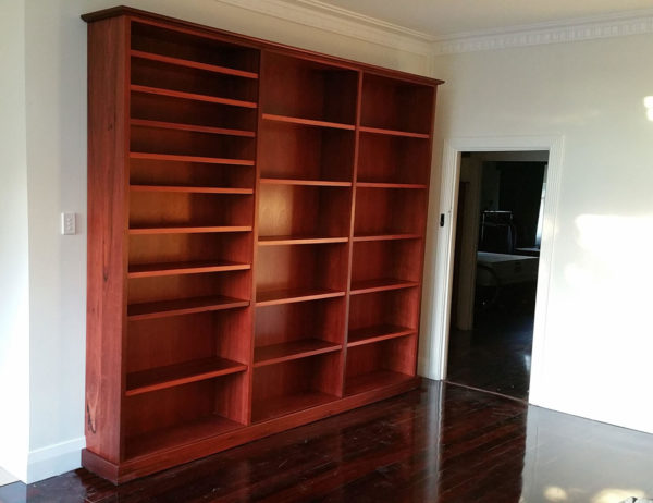Guildford-Large-Jarrah-Bookcase-2 Timber Furniture
