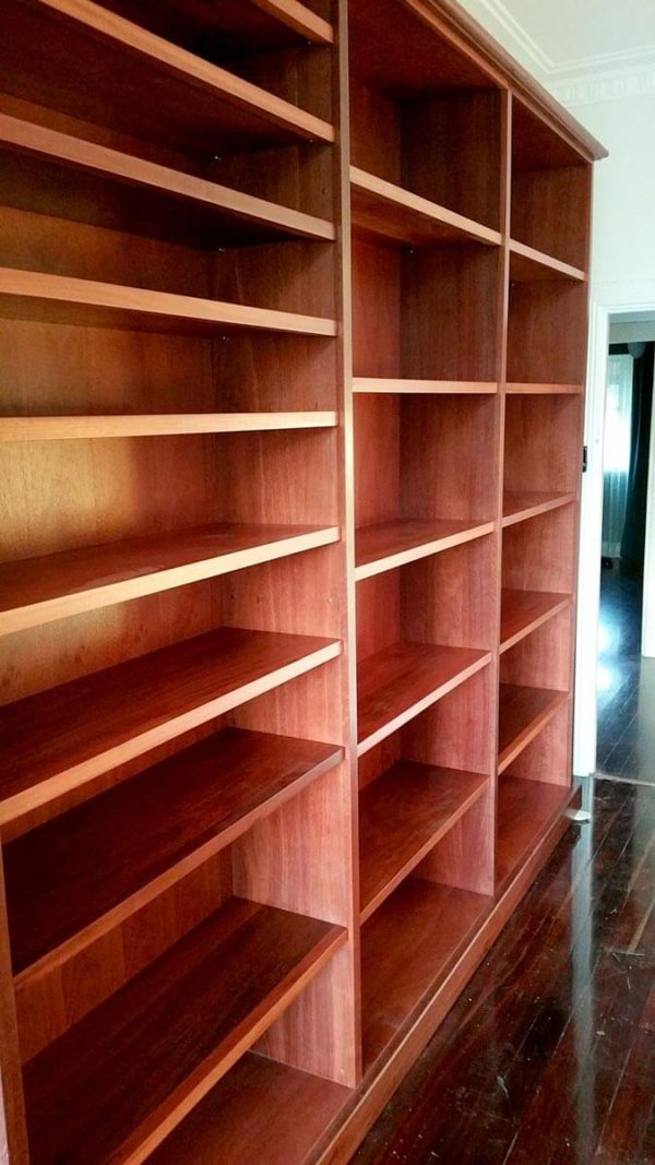 Guildford-Large-Jarrah-Bookcase-3 Timber Furniture