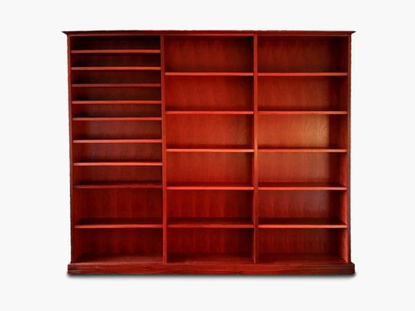 Guildford-Large-Jarrah-Bookcase Timber Furniture