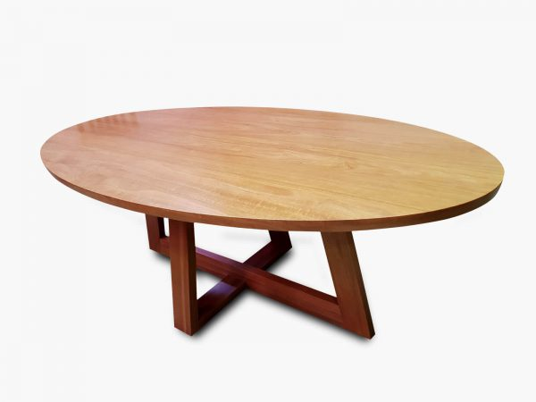 Capel-Oval-Dining Timber Furniture