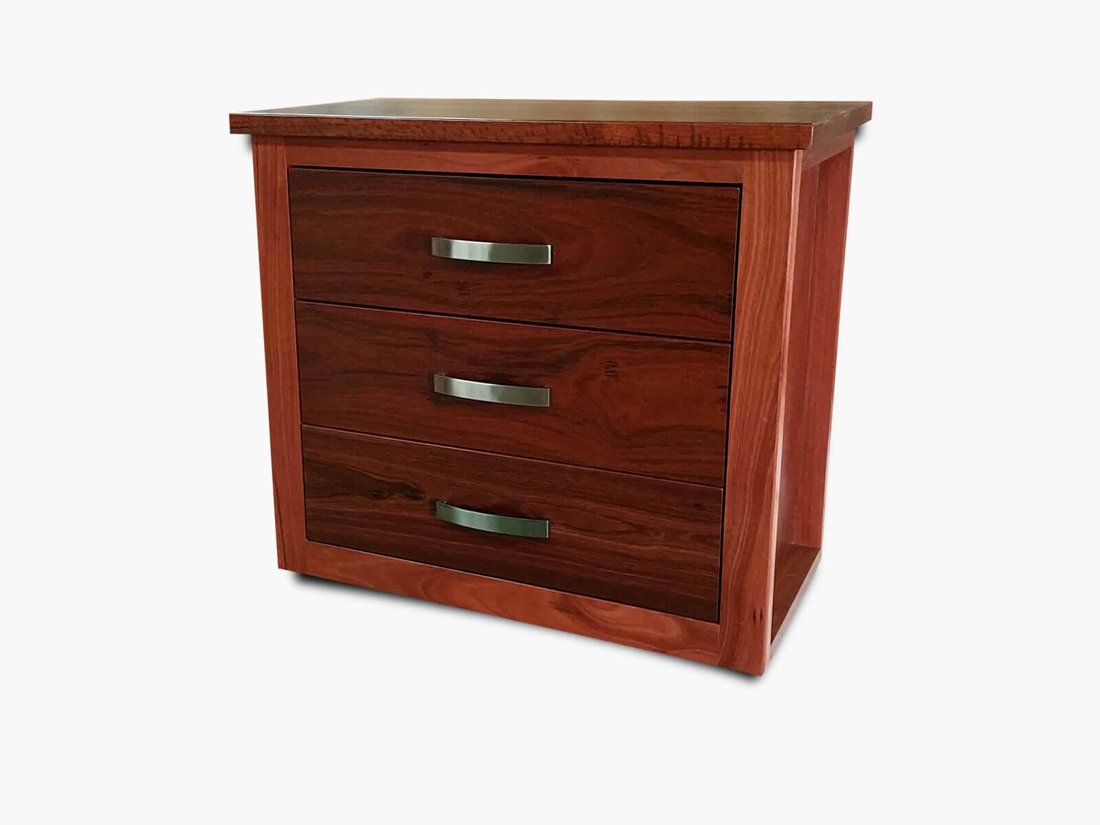 Hillarys-Bedside-3-Drawer Timber Furniture
