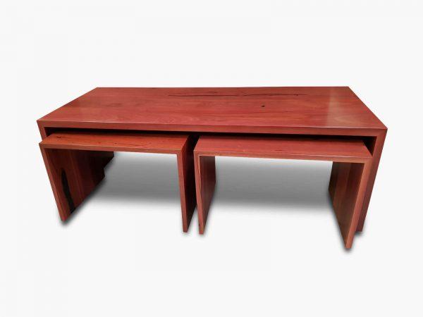 Jarrah-Angular-Coffee-Nests-2 Timber Furniture