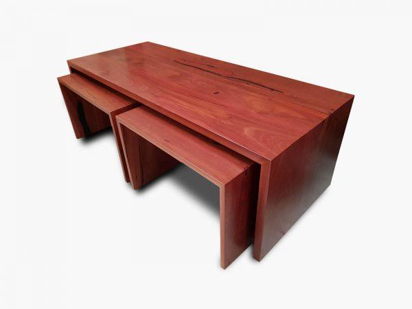 Jarrah-Angular-Coffee-Nests-3 Timber Furniture