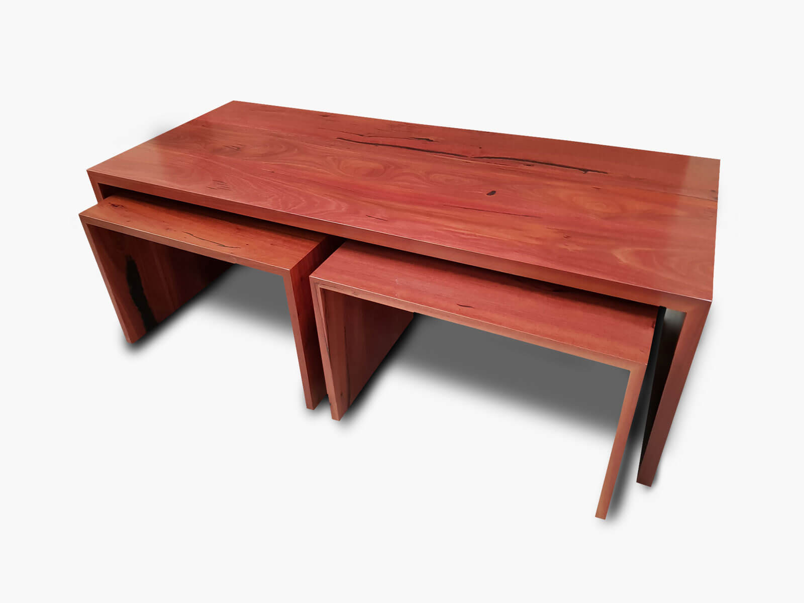 Jarrah-Angular-Coffee-Nests Timber Furniture
