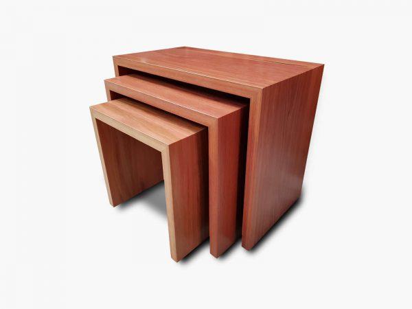 Jarrah-Nest-Tables-30-3 Timber Furniture