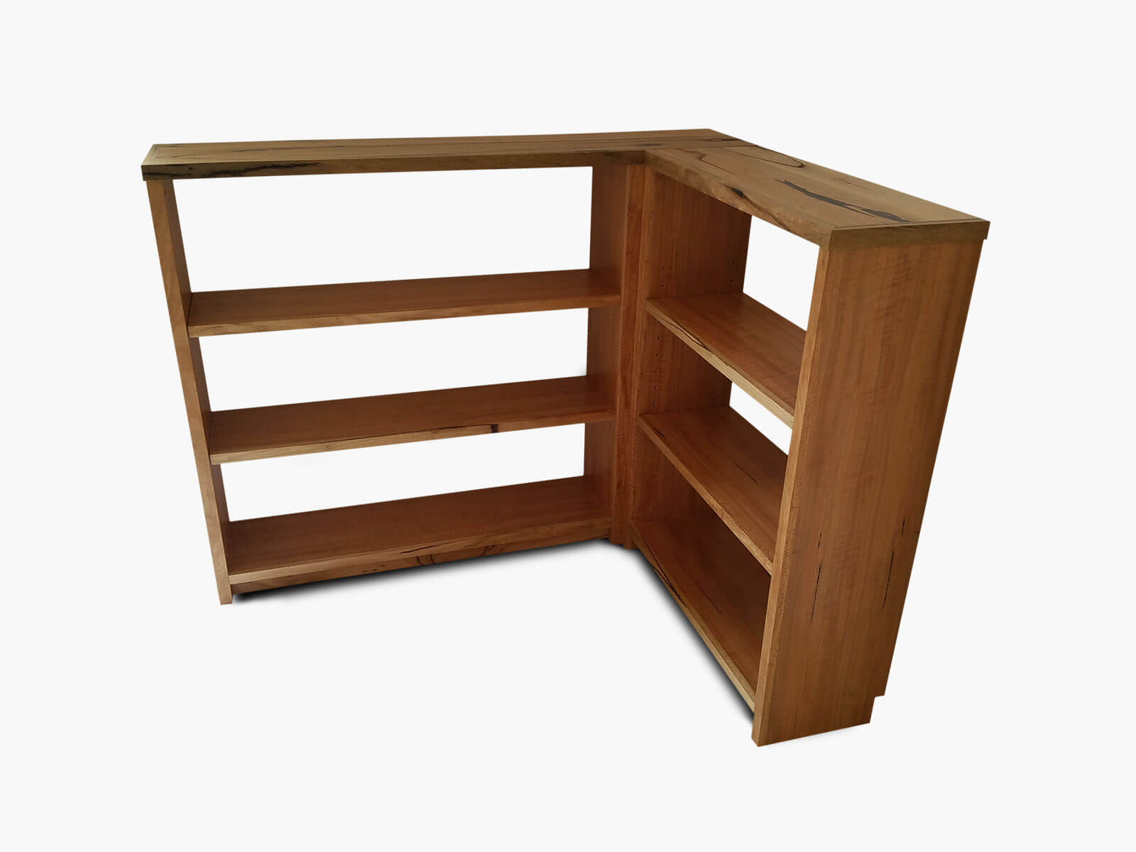 Maylands-Corner-Bookcase Timber Furniture