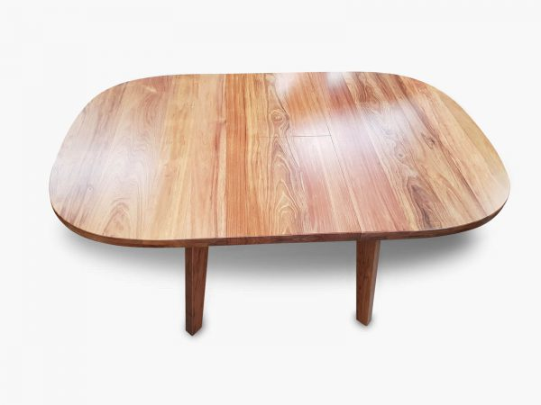 Retro Rounded Extension Dining Table