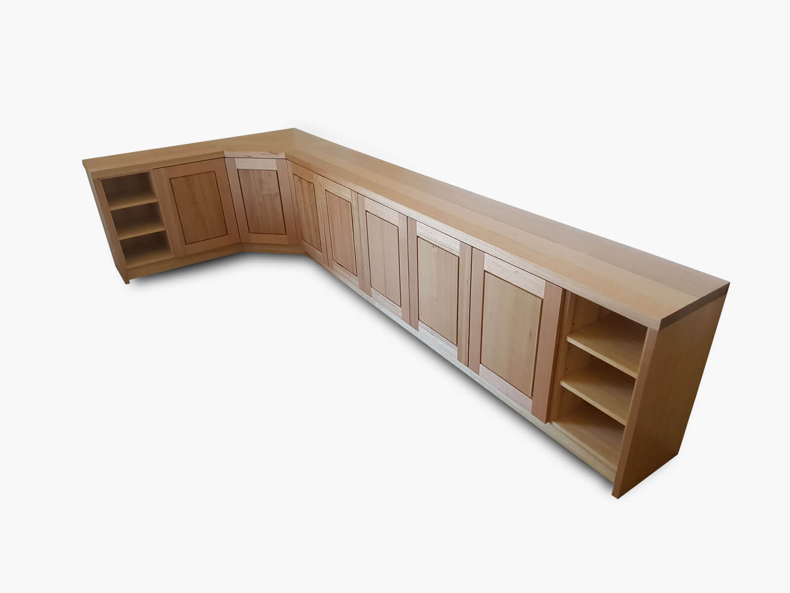 Wembley-Corner-Bookcase Timber Furniture