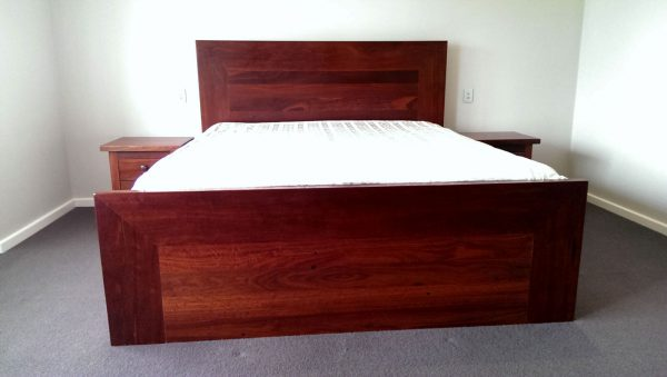 Wembley Jarrah King Bed