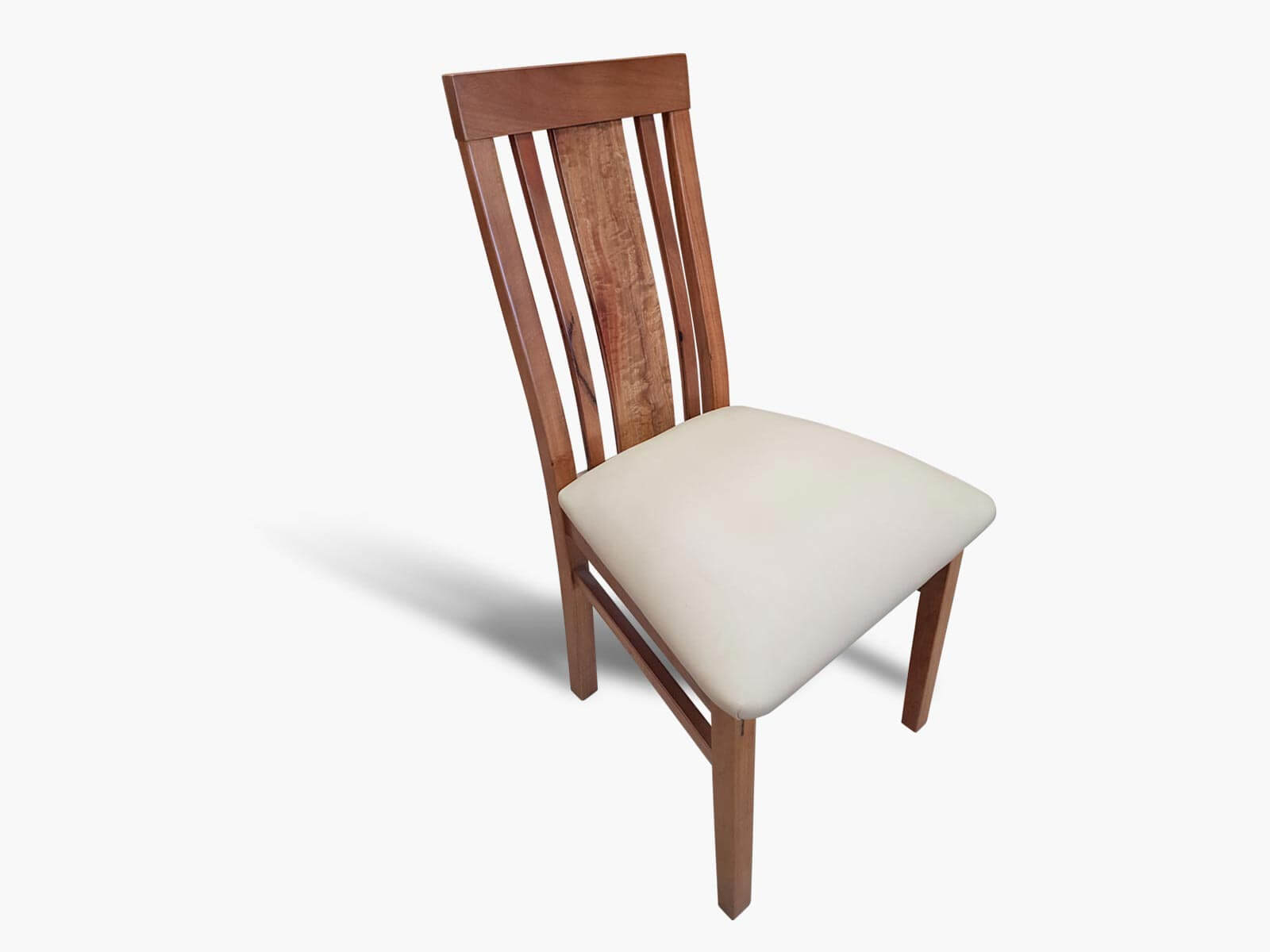Busselton-Low-Back-Marri-Dining-Chair Timber Furniture