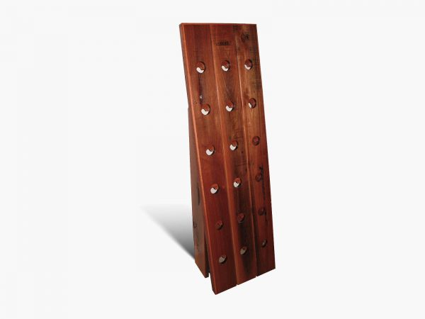 Wine-Rack-Riddling-Jarrah2 Timber Furniture