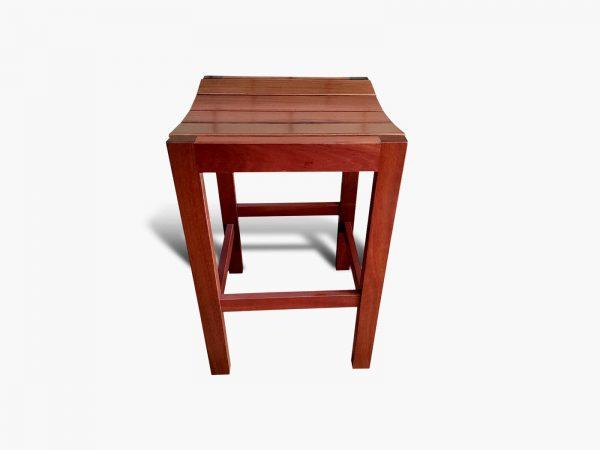 Yokine-Jarrah-Barstool-2 Timber Furniture