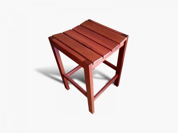 Yokine-Jarrah-Barstool-4 Timber Furniture