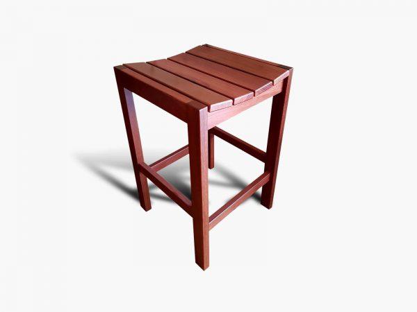 Yokine-Jarrah-Barstool Timber Furniture