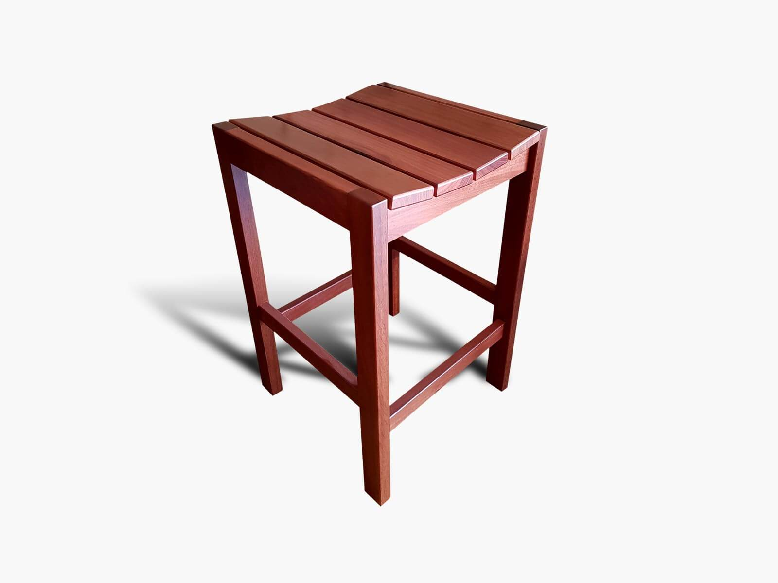 Yokine-Jarrah-Barstool Timber Furniture